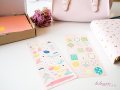 2 sheets of stickers