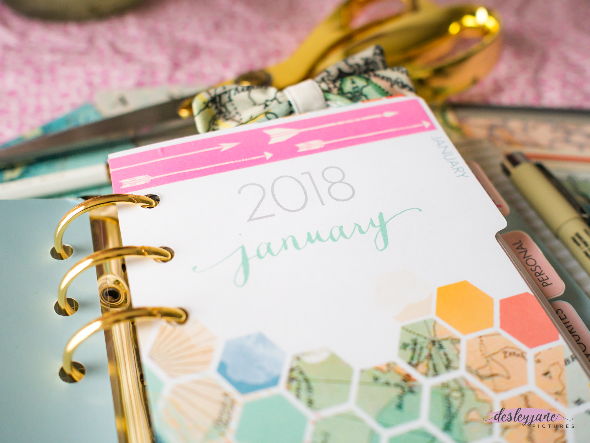 Moving to Pre-Decorated Inserts: Personal Size Planner