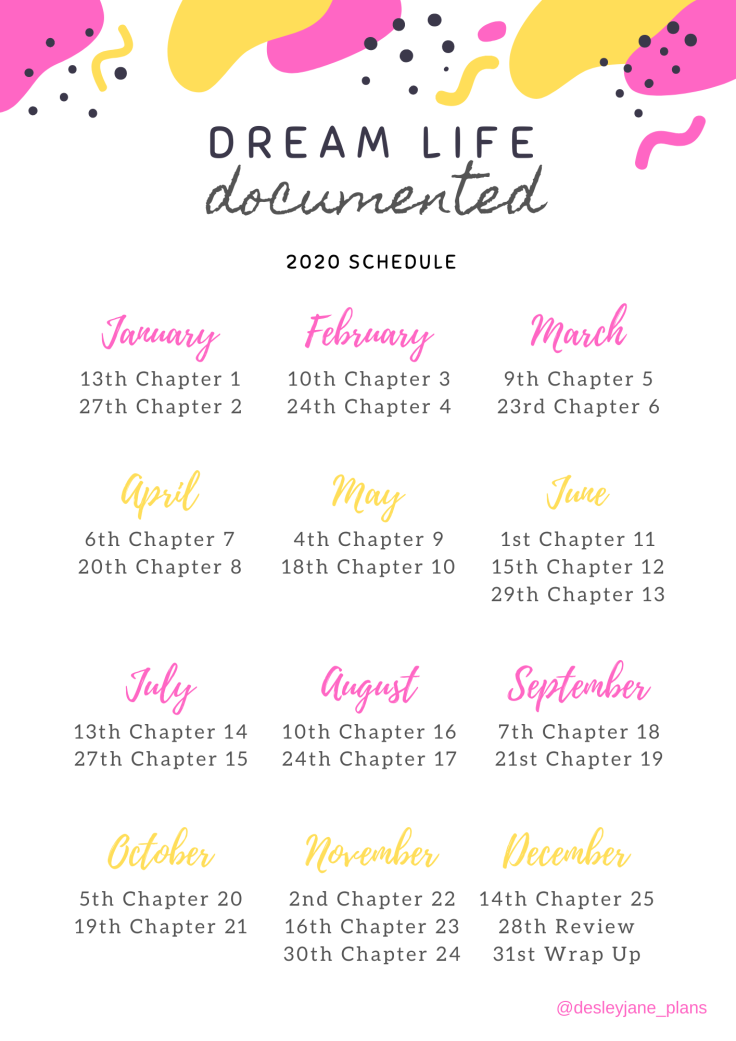 Dream Life Documented Schedule